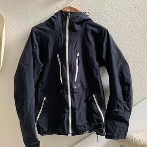 men's medium oakley gore tex jacket black